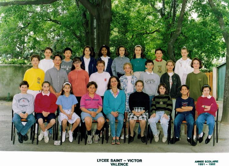 College Saint Victor Valence : photo de classe 5eme st victor valence 1991 1992 de 1991 ~ Dailycaller-alerts.com Idées de Décoration