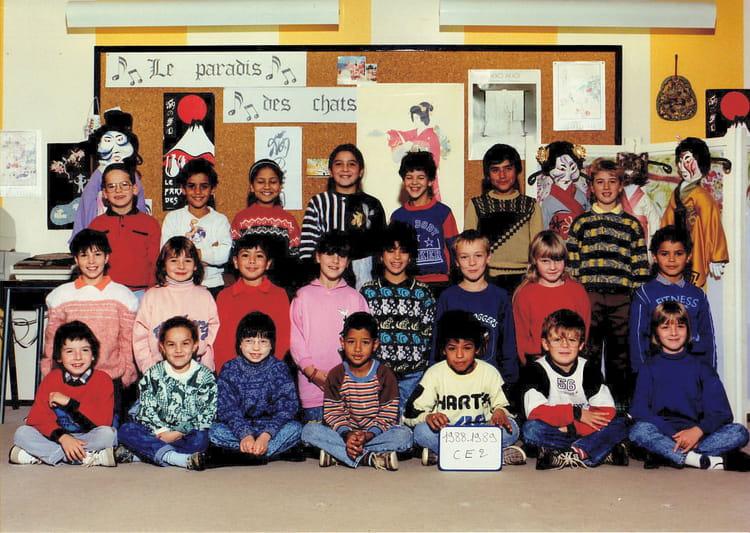 photo de classe ce 2 de 1989 ecole louis pasteur saint dizier copains d 39 avant. Black Bedroom Furniture Sets. Home Design Ideas