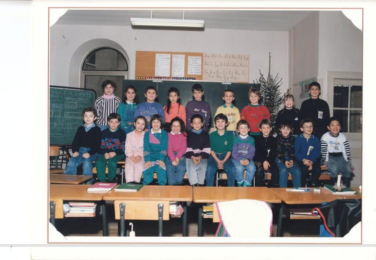 Photo de classe Photo de classe de 1986, Ecole De La Place (Dampierre Les Bois) Copains d'avant # Dampierre Les Bois