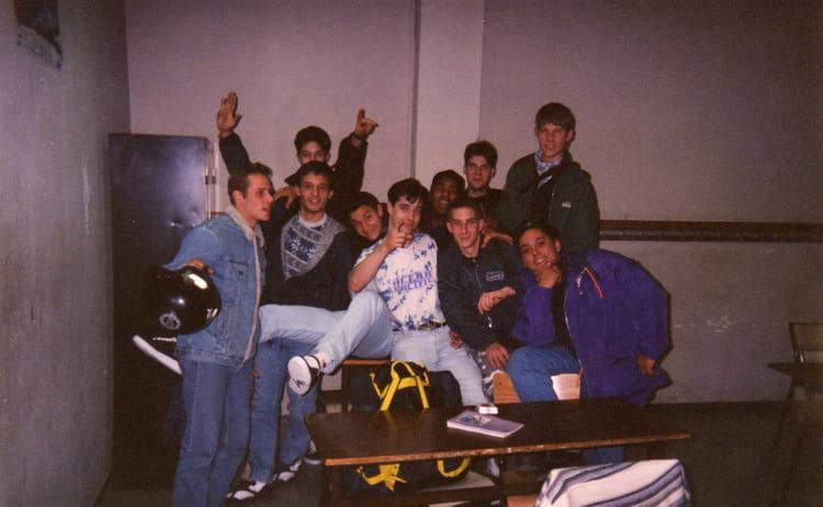 photo de classe cap boulanger / cfa d'evry de 1996, cfa de la
