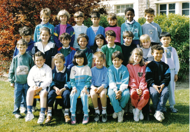 Photo de classe ce1 de 1990 ecole paul bert la chapelle for Piscine la chapelle st luc