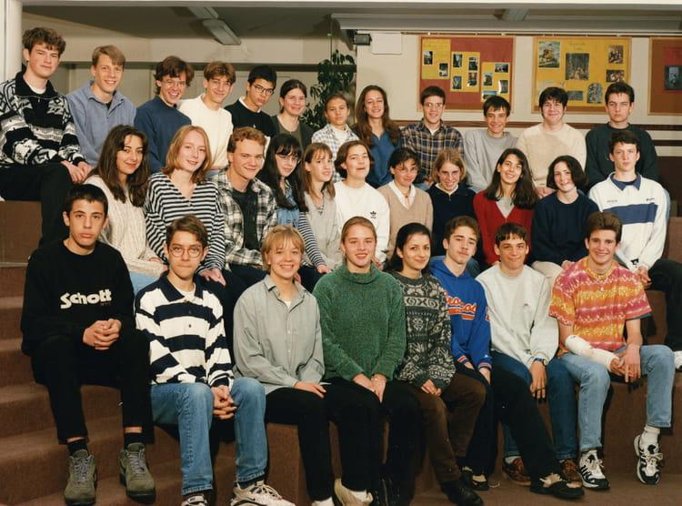 photo de classe 2nde de 1997 lyc 233 e fran 231 ois d assise copains d avant