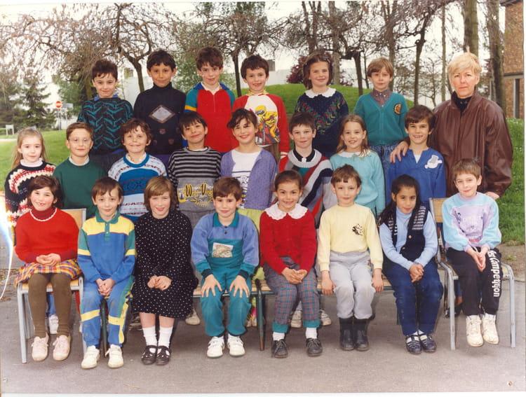 Photo de classe ce1 mme cot de 1989 ecole la rochopt for Boussy saint antoine piscine