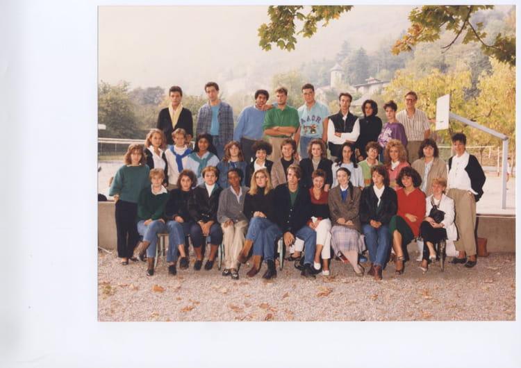 Photo de classe Terminal G1 8687 de 1986, Itecboisfleury  ~ Itec Bois Fleury