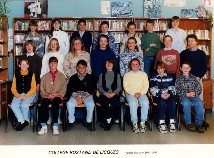 Photo de classe 5i me pasteur de 1994 coll ge jean for Pronote college jean moulin salon
