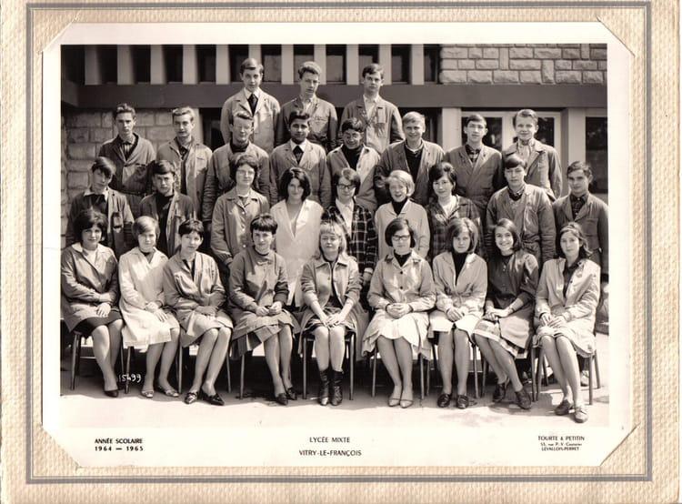 Photo de classe lyc e d 39 tat mixte de vitry le fran ois de - College du vieux port vitry le francois ...