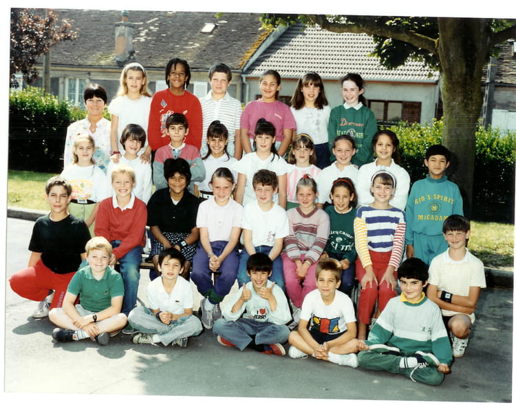 photo de classe cm 1 yann la queue en brie de 1989 ecole jean jaures copains d 39 avant. Black Bedroom Furniture Sets. Home Design Ideas