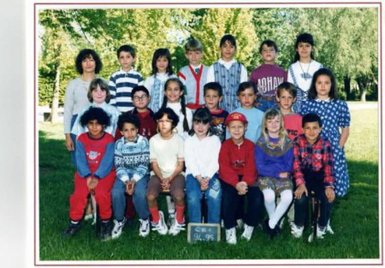 photo de classe ce1 de 1994 ecole jean rostand bourgoin jallieu copains d 39 avant. Black Bedroom Furniture Sets. Home Design Ideas