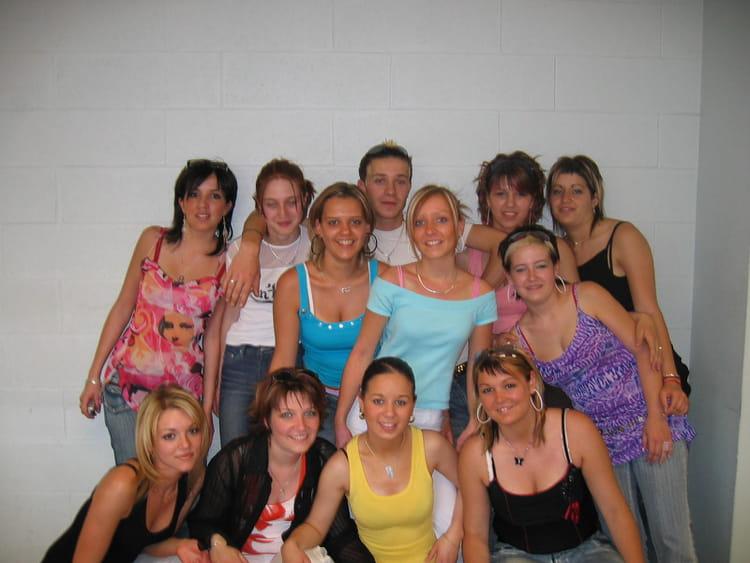 Photo de classe C.a.p coiffure de 2005, CFA LES MOULINIERS ...