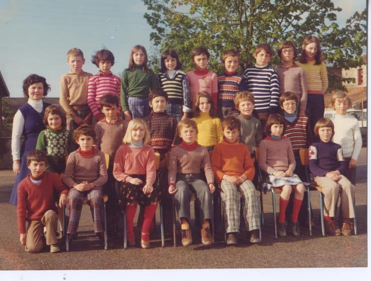 Photo de classe CM1 de 1976, Ecole Saint Louis De Gonzague  ~ St Malo Du Bois