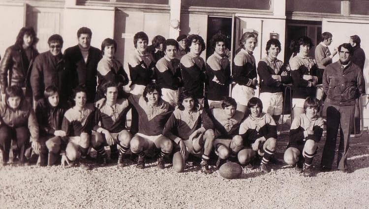 Photo de classe juniors reichel 74 75 ou 75 76 de for Sporting club salonais