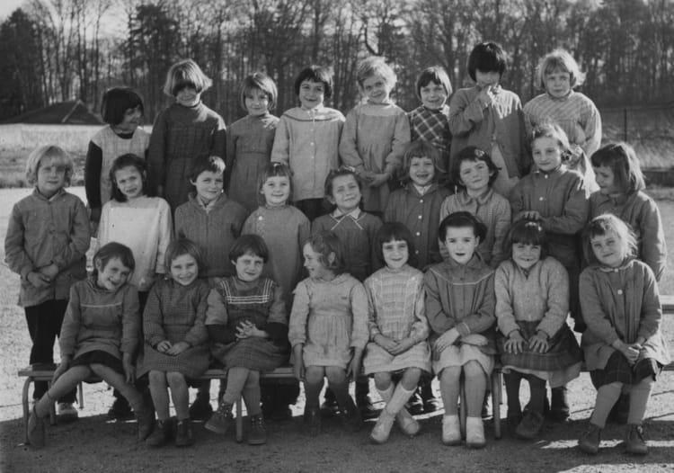 photo de classe cp de 1960 ecole fort du bois lagny sur