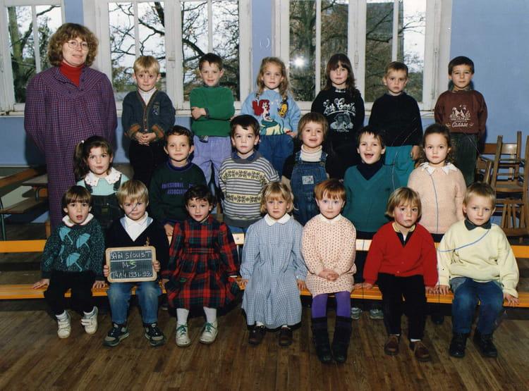 Photo de classe moyenne section de 1991 ecole saint for Bains s oust