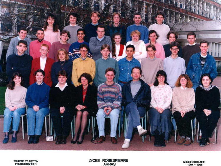 1995 , Math Spé M 1994,1995 , Cpge lycée robespierre