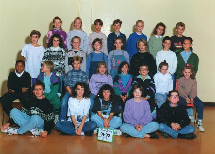 photo de classe 5 me 4 de 1991 coll ge l 39 oiseau blanc copains d 39 avant. Black Bedroom Furniture Sets. Home Design Ideas