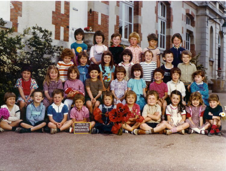 photo de classe maternelle de 1978 ecole saint eloi ambonnay copains d 39 avant. Black Bedroom Furniture Sets. Home Design Ideas