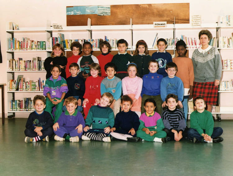 photo de classe ce1 de 1991 ecole montaigu melun copains d 39 avant. Black Bedroom Furniture Sets. Home Design Ideas