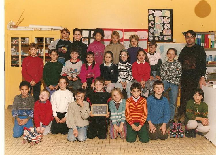 Photo de classe cm2 de 1993 ecole jacques prevert for Garage bailleau le pin