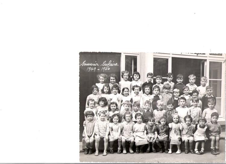 Photo de classe cole maternelle de 1949 ecole jardin de ville copains d 39 avant - Restaurant jardin de ville grenoble ...