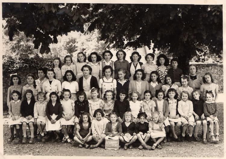 Photo de classe classe st laurent du pont de 1950 ecole - Piscine st laurent du pont ...