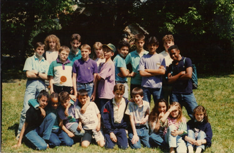 photo de classe 5 m de 1988 coll ge foyer des ptt copains d 39 avant. Black Bedroom Furniture Sets. Home Design Ideas