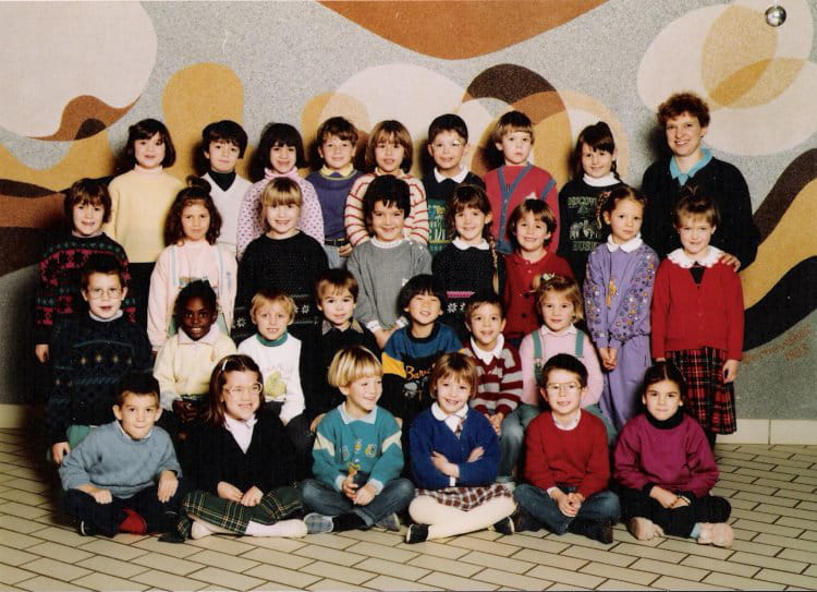 photo de classe ma 3eme annee de maternel de 1989 ecole louis lemonnier franqueville saint. Black Bedroom Furniture Sets. Home Design Ideas