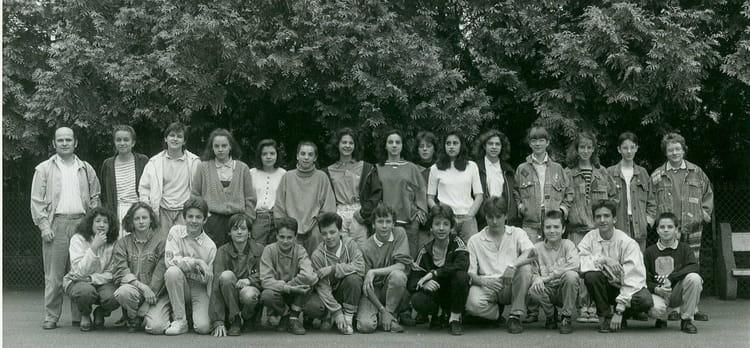 Photo de classe 4 c de 1988 coll ge du jardin des plantes copains d 39 avant - College du jardin des plantes ...