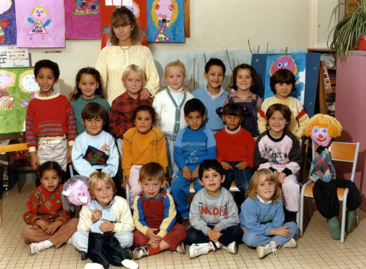 photo de classe grande section maternelle de 1986 ecole jacques prevert villefranche sur saone. Black Bedroom Furniture Sets. Home Design Ideas
