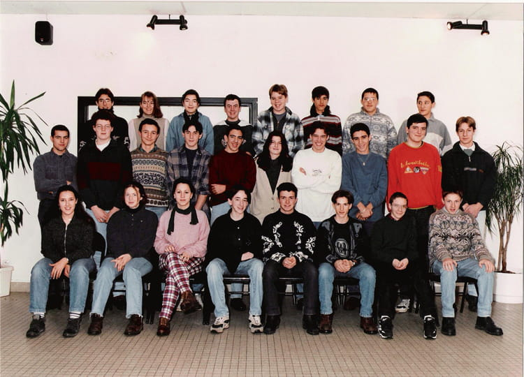 photo de classe classe de 2nde 7 de 1995 lyc e nicephore niepce copains d 39 avant. Black Bedroom Furniture Sets. Home Design Ideas