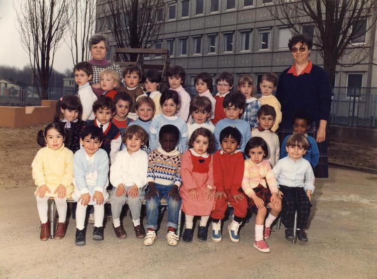 Photo de classe maternelle moyenne section de 1987 for Haute futaie