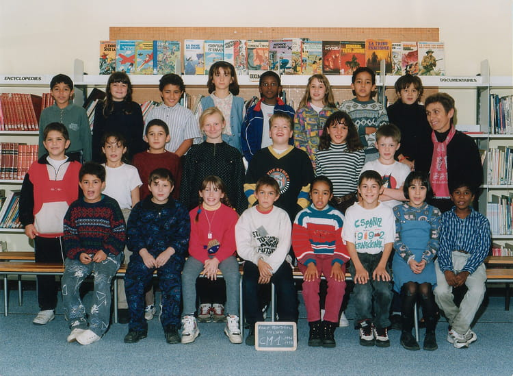 photo de classe cm1 de 1996 ecole montaigu melun copains d 39 avant. Black Bedroom Furniture Sets. Home Design Ideas