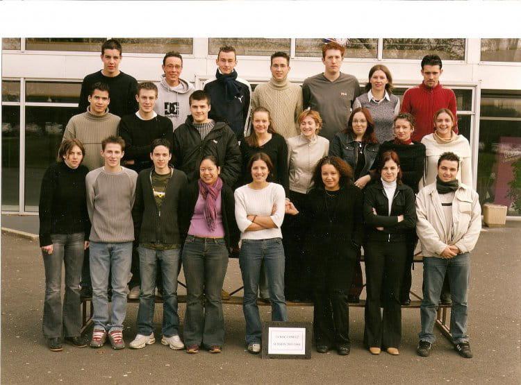 Photo de classe bac pro commerce de 2002 cfa de la - Chambre de commerce et d industrie angers ...