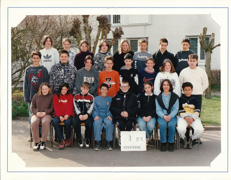 Photo de classe 1997 1998 coll ge jean moulin nogent for Pronote college jean moulin salon