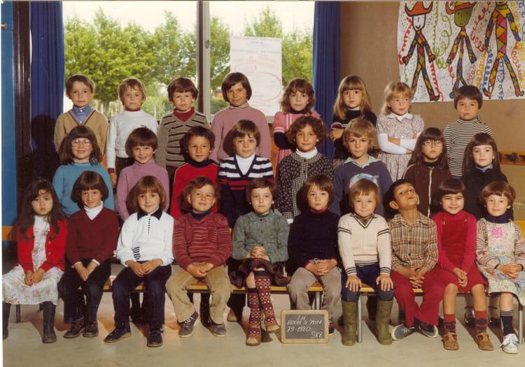 Photo de classe classe primaire de 1979 ecole les - Cours cuisine la roche sur yon ...
