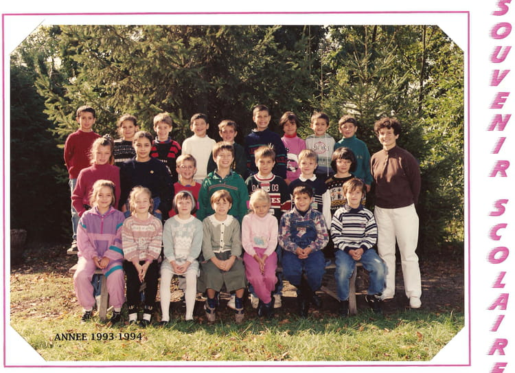 photo de classe ce1 de 1993 ecole du general de gaulle. Black Bedroom Furniture Sets. Home Design Ideas