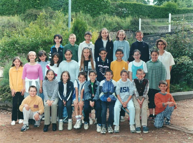 photo de classe cm2 de 1999 ecole leonard de vinci cours la ville copains d avant