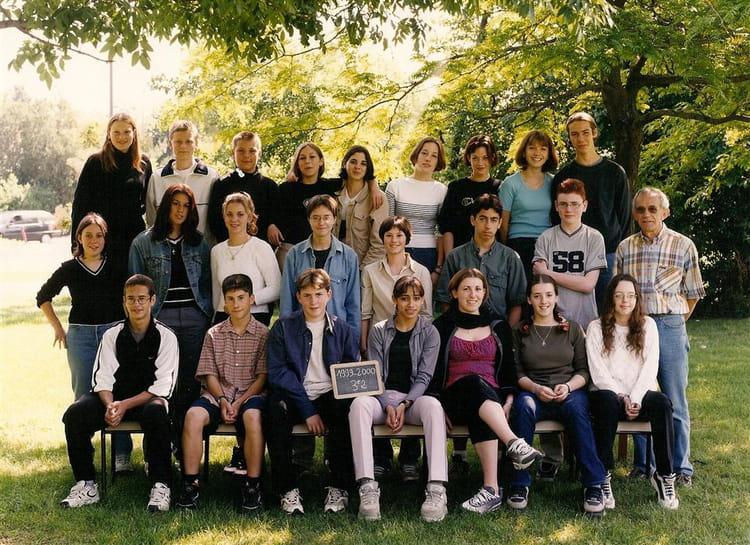Photo de classe 3e2 de 1999 coll ge charles de gaulle - College charles de gaulle guilherand granges ...