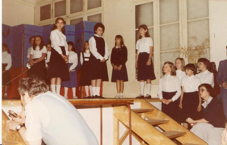 photo de classe fete de l ecole de 1978 la bruy re sainte. Black Bedroom Furniture Sets. Home Design Ideas