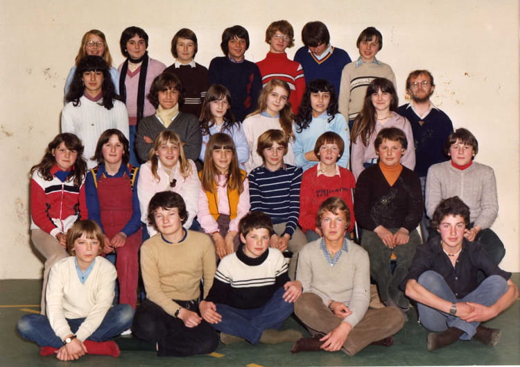 photo de classe 5 eme 7 de 1980 coll ge l 39 oiseau blanc copains d 39 avant. Black Bedroom Furniture Sets. Home Design Ideas