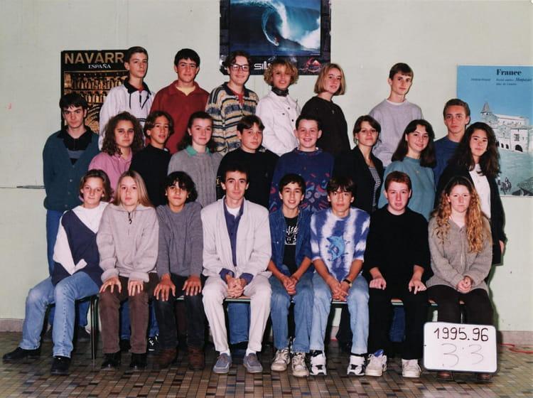 photo de classe 3 232 me3 de 1996 coll 232 ge notre dame de la salle copains d avant
