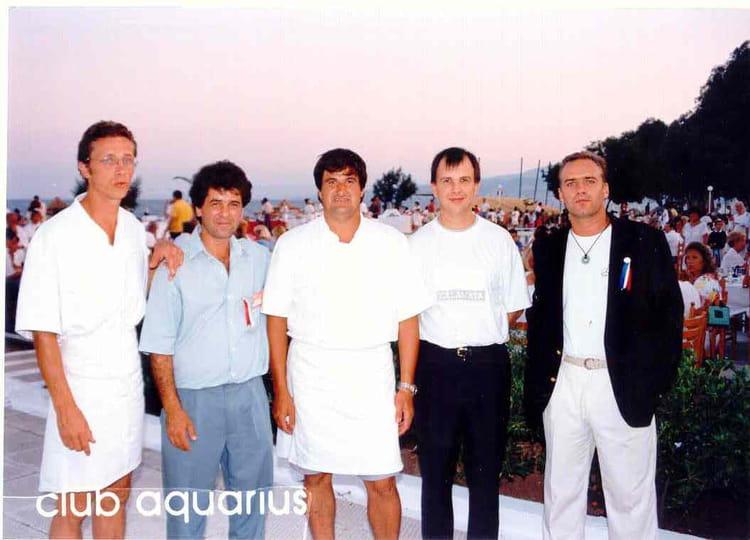 Extrêmement Photo de classe Kalamata (Gréce) Ete 1994 de 1994, CLUB AQUARIUS  FF42