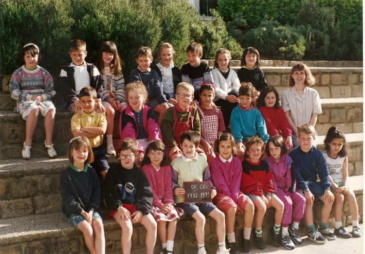 Photo de classe cp ce1 de 1992 ecole emile baumann la - Cours cuisine la roche sur yon ...