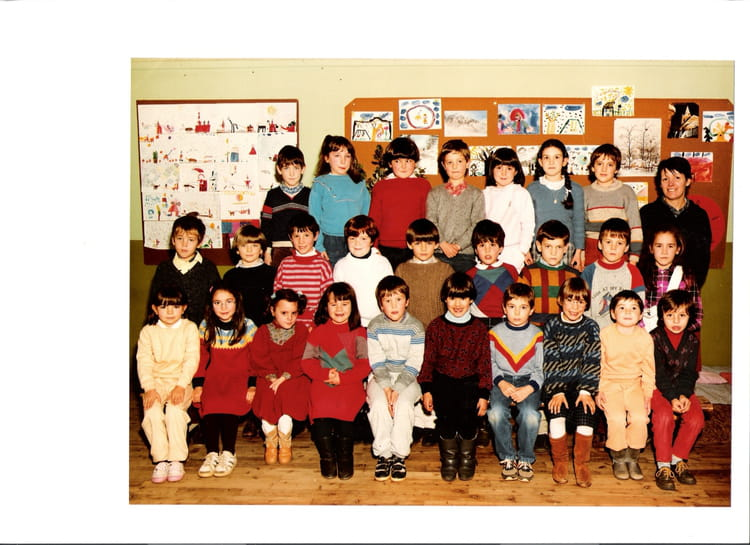 photo de classe cp de 1986 ecole les tilleuls saint leger sous cholet copains d 39 avant. Black Bedroom Furniture Sets. Home Design Ideas