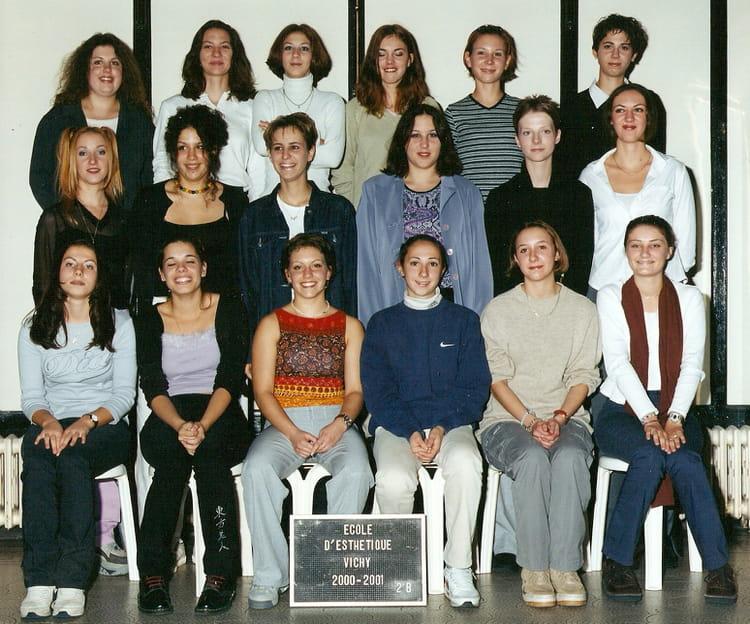 Photo de classe cap 2b de 2000 ecole de soins esth tiques de vichy fournier copains d 39 avant - Cours de cuisine vichy ...