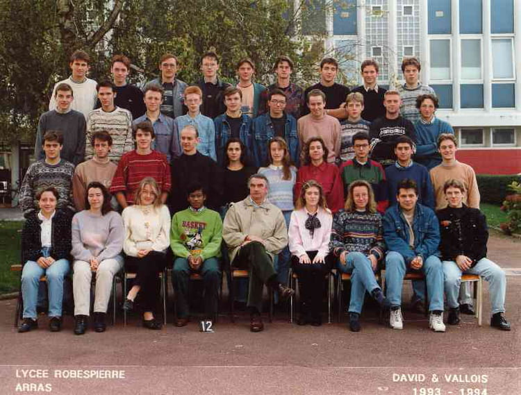 1994 , Math Sup 2 1993,1994 , Cpge lycée robespierre