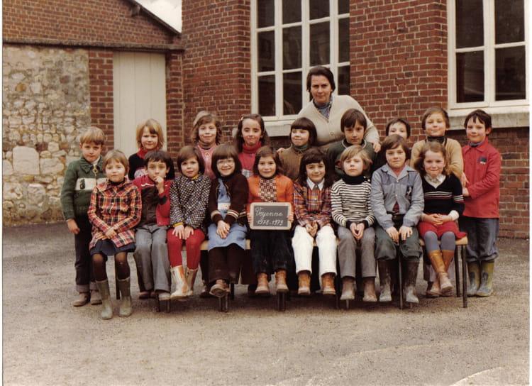 Photo de classe cp de voyenne rue de l 39 glise de 1978 cp for Cuisine zecchinon avis
