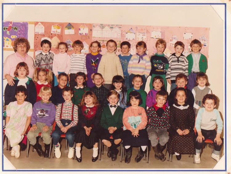 Photo De Classe Maternelle De 1989 Ecole Louis Aragon Gainneville
