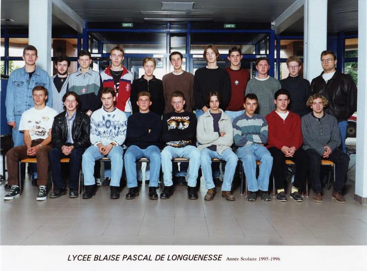 Photo de classe terminal tgm3 de 1995 lyc e blaise pascal - Art cuisine longuenesse ...