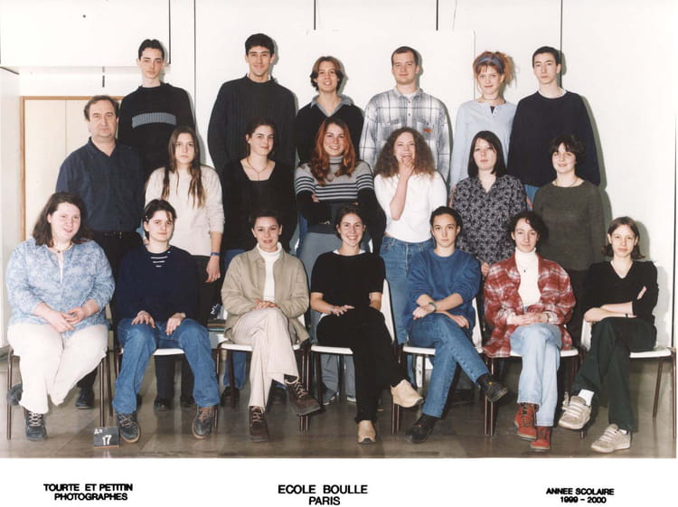 photo de classe atelier gravure en model de 1999 ecole boulle copains d 39 avant. Black Bedroom Furniture Sets. Home Design Ideas