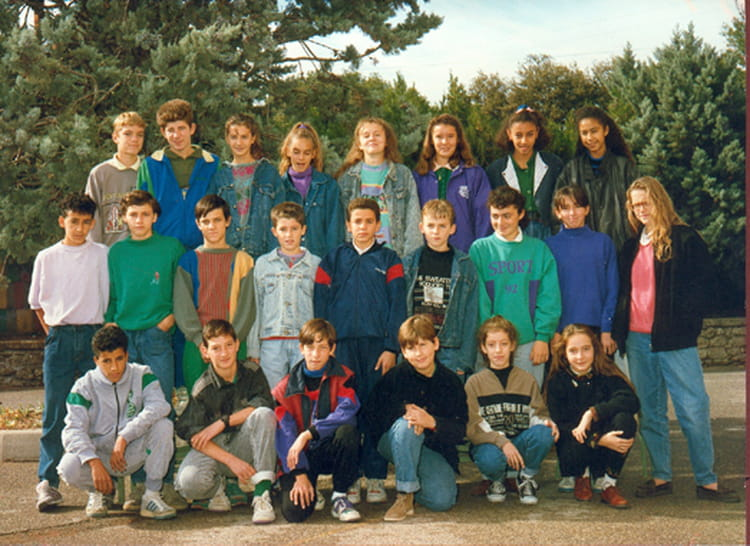 Photo de classe 5 6 de 1989 coll ge jean moulin copains - College jean moulin salon de provence ...